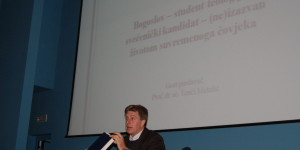 Predavanje dr. Tončija Matulića: ,,Bogoslov – student teologije i svećenički kandidat – (ne)izazvan životom suvremenog čovjeka''