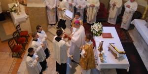 Primanje kandidature za Varaždinsku biskupiju