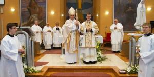 Ivica Šimunović zaređen za đakona Sisačke biskupije