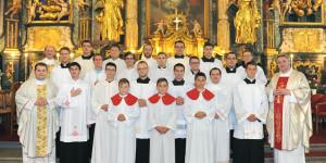 Duhovno-formativni susret bogoslova Varaždinske biskupije