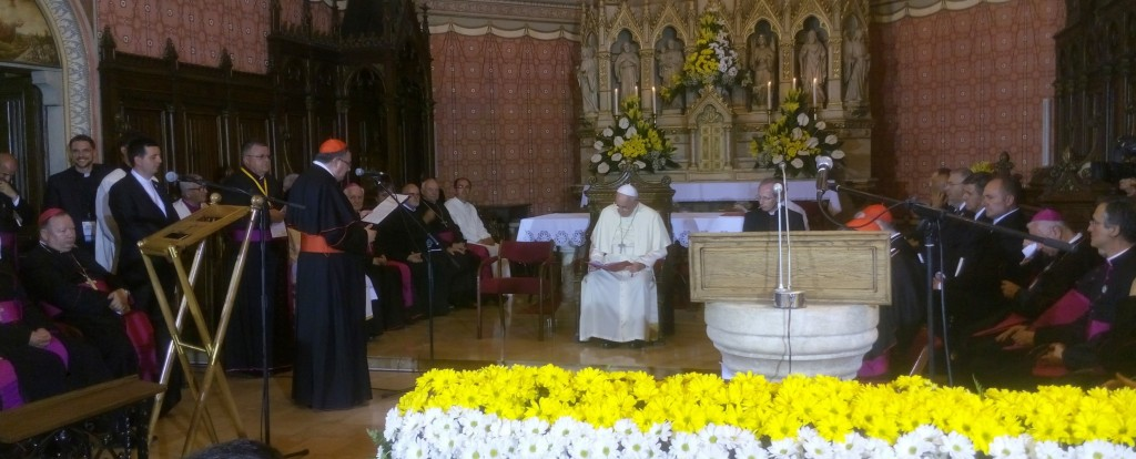 Papa Franjo u Sarajevu (1)