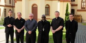 Kardinal Robert Sarah u Bogosloviji