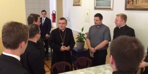 Kardinal Josip Bozanić u Bogosloviji