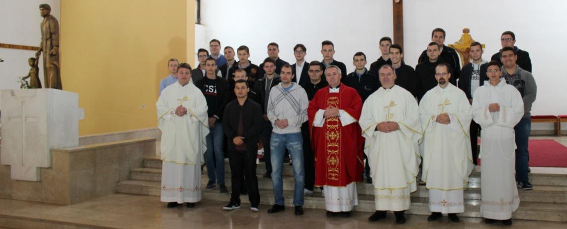 Hodočašće bogoslova prve godine Nadbiskupskog bogoslovnog sjemeništa u Zagrebu
