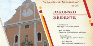 Đakonsko ređenje četvorice kandidata u varaždinskoj katedrali