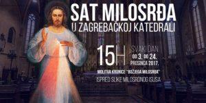 Sat milosrđa u Zagrebačkoj katedrali