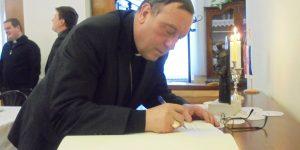 Bogoslovno sjemenište posjetio nadškof i metropolit Mariborske nadškofije Msgr. Alojzij Cvikl