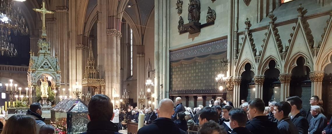Ura preminuća u Zagrebačkoj katedrali