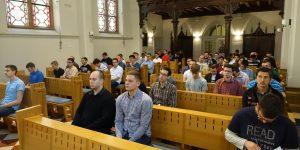 Vazmena duhovna obnova bogoslovske zajednice: 'Bog nas želi opravdati te nas zato poziva'