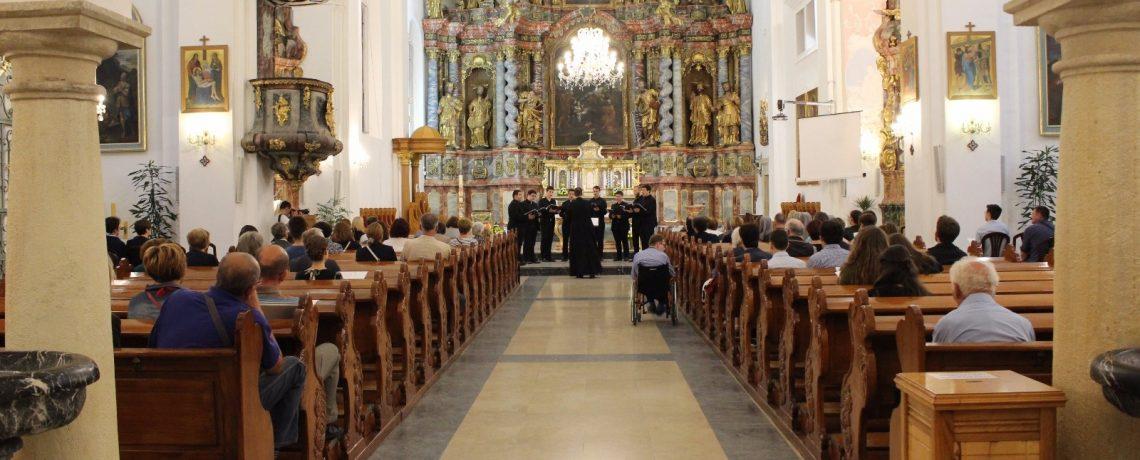 Bogoslovski oktet održao koncert u Varaždinskoj katedrali
