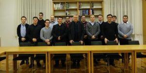 Biskup Mrzljak pohodio Nadbiskupsko bogoslovno sjemenište te se susreo s bogoslovima
