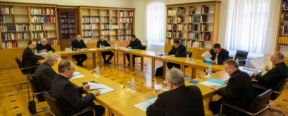 Sastanak biskupa u Nadbiskupskom bogoslovnom sjemeništu u Zgrebu